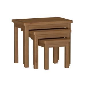 Newlyn Nest of 3 Tables - Oak