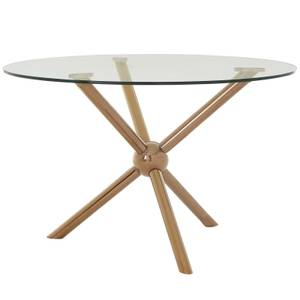 Novo Round Dining Table - Rose Gold
