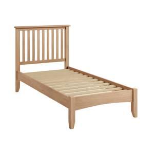 Kea Single Bed Frame - Oak
