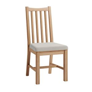 Kea Upholstered Dining Chair - Set of 2 - Oak