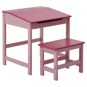 Kids Desk and Stool - Pink