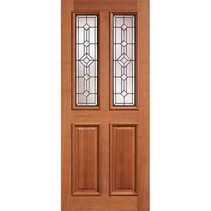 Derby - Hardwood Glazed Exterior Door - 2032 x 813 x 44