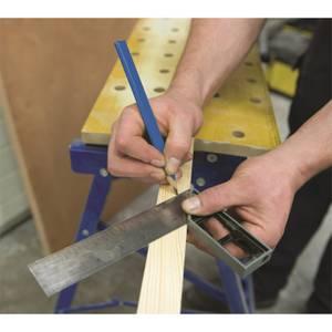 Silverline 13 Piece Carpenters Pencils & Sharpener Set