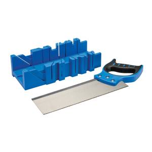Silverline Expert Mitre Box & Saw 300 x 90mm