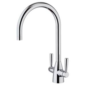 Milano Twin Lever Tap  - Chrome