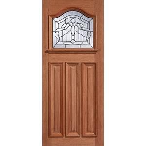 Estate Crown - Hardwood Glazed Exterior Door - 2032 x 813 x 44