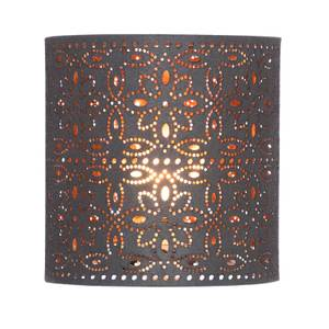 Alexia Lamp Shade - Charcoal with Copper Inner