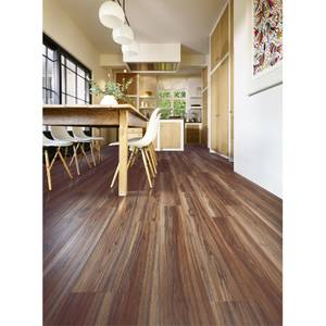 Embossed Luxury Vinyl Click Flooring - Norfolk Walnut
