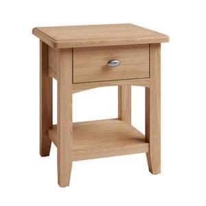 Kea Lamp Table - Oak
