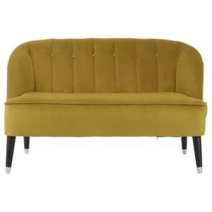 Doucet Velvet Sofa - Dijon