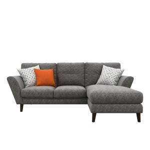 Nirvana Right Hand Chaise - Charcoal