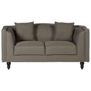 Feya 2 Seat Fabric Sofa - Mink