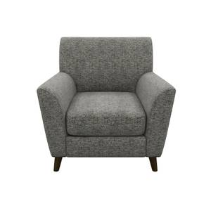 Nirvana Plain Accent Chair - Charcoal