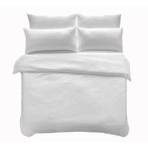 Microfibre Bedding Set - Double - White