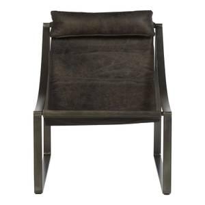 Hoxton Leather Chair - Ebony