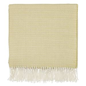 Sanderson Home Coraline Woven Throw 130x170cm - Chartreuse