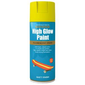 Rust-Oleum High Glow Spray Paint - Yellow - 400ml