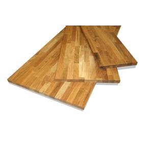 Solid Oak Board - 18 x 400 x 1150mm