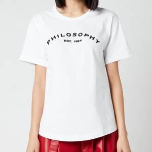 Philosophy di Lorenzo Serafini Women's Logo T-Shirt - White