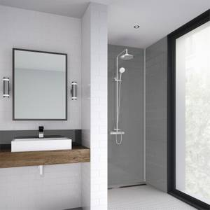 Wetwall Grey - 1220mm - Shower Panel - Composite