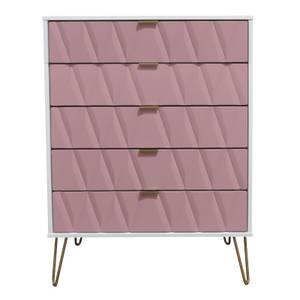 Ice 5 Drawer Chest - Pink