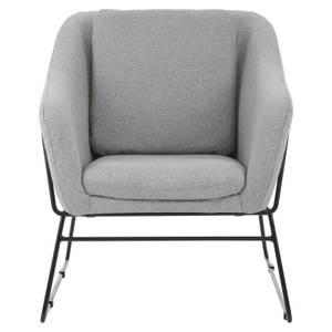 Stockholm Chair - Metal Frame - Grey