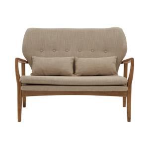 Stockholm Birch Wood Frame 2 Seater Sofa