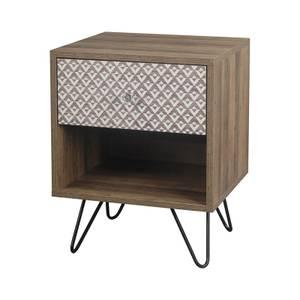 Casablanca 1 Drawer Lamp Table