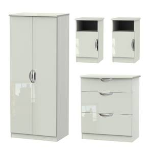 Portofino 4 Piece Bedroom Furniture Set - Kaschmir