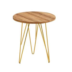 Fusion Lamp Table - Wood