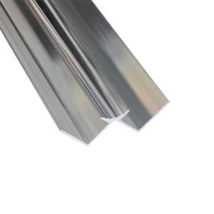 Wetwall Internal Corner - Polished Silver
