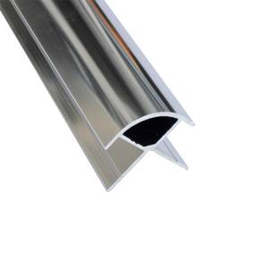 Wetwall External Corner - Polished Silver