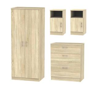 Amalfi 4 Piece Bedroom Furniture Set - Bardolino