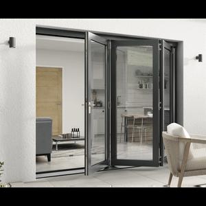 Rohden Slide & Fold Door Set 2400mm - Grey