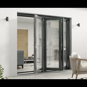 Rohden Slide & Fold Door Set 2100mm - Grey