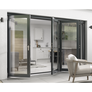 Rohden Slide & Fold Door Set 3000mm - Grey