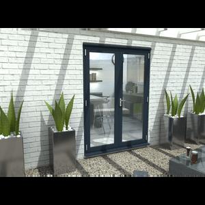 Rohden French Door Set 1500mm - Grey