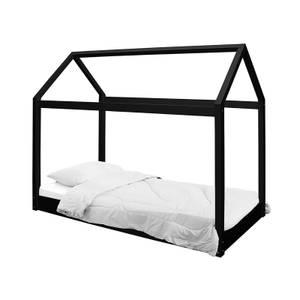 Hickory House Single Bed - Black