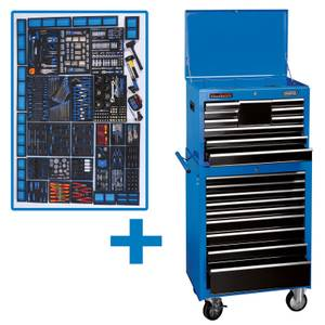 Draper 26 Inch Mechanic's Mega Kit Tool Roller Trolley includes 700 Tool Pieces