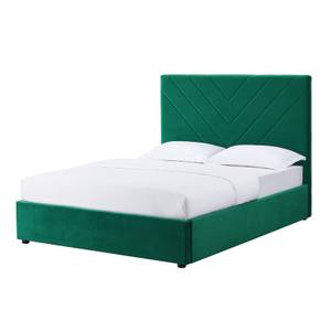Islington Double Bed - Forest Green
