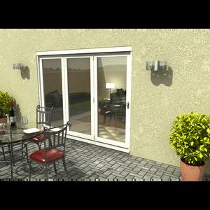 Rohden Slide & Fold Door Set 2700mm - White