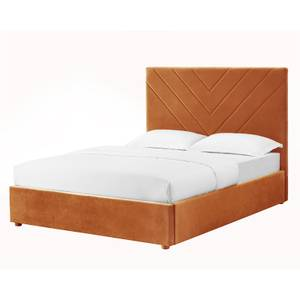 Islington Kingsize Bed - Burnt Orange