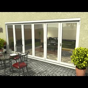 Rohden Slide & Fold Door Set 4800mm - White