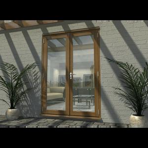 Rohden French Door Set 1500mm - Prefinished Oak