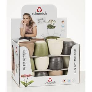 Corteza Assort Ceramic Cover Pot  10cm
