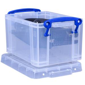Really Useful Storage Box - Clear - 1.6L