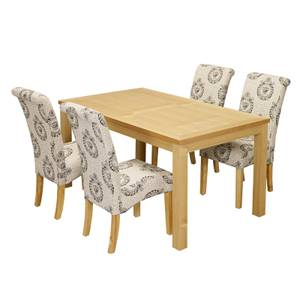 Oakridge 4 Seater Dining Set - Kensington Dining Chairs