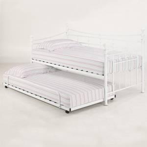 Olivia Trundle Bed - White