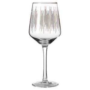 Deco Wine Glasses - Set of 4
