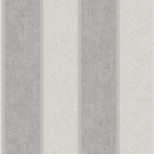 Belgravia Decor San Remo Striped Embossed Metallic Silver Wallpaper